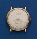 Timepieces:Clocks, Longines 14k Gold Manual Wind Wristwatch. ...