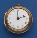 Timepieces:Pocket (pre 1900) , Robert Allan London Early Gold Pair Case Verge Fusee Pocket Watch....