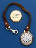 Timepieces:Pocket (post 1900), Elgin 21 Jewel B.W. Raymond Grade 590 Pocket Watch. ...