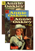 Golden Age (1938-1955):Western, Annie Oakley and Tagg Group (Dell, 1955-56) Condition: Average VF/NM.... (Total: 6 Comic Books)