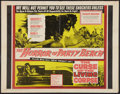 """Movie Posters:Horror, The Horror of Party Beach/The Curse of the Living Corpse Combo (20th Century Fox, 1964). Half Sheet (22"""" X 28""""). Horror.. ..."""