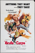"""Movie Posters:Exploitation, Brute Corps And Other Lot (General Film, 1972). One Sheets (2) (27""""X 41""""). Exploitation.. ... (Total: 2 Items)"""