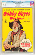 Golden Age (1938-1955):Western, Gabby Hayes Western #29 Crowley Copy pedigree (Fawcett, 1951) CGCNM 9.4 Off-white pages....
