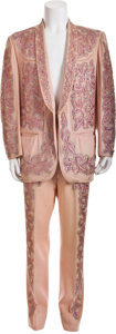 Music Memorabilia:Costumes, Hank Thompson's Custom Suit by Nudie Cohn....