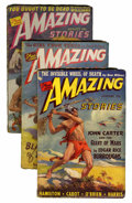 Pulps:Science Fiction, Amazing Stories Group (Ziff-Davis, 1941-43) Condition: AverageGD/VG.... (Total: 6 Items)