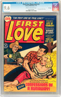 Golden Age (1938-1955):Romance, First Love Illustrated #13 File Copy (Harvey, 1951) CGC NM+ 9.6Cream to off-white pages....