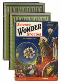 Pulps:Science Fiction, Science Wonder Stories/Unknown Group (Various, 1930-42) Condition:Average VG.... (Total: 3 Comic Books)