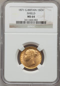 Great Britain, Great Britain: Victoria gold Sovereign 1871,...