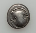 Ancients:Greek, Ancients: BOEOTIA. Thebes. Ca. 395-338 BC. AR stater (12.06 gm)....