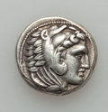 Ancients:Greek, Ancients: MACEDONIAN KINGDOM. Alexander III the Great (336-323 BC).AR tetradrachm (17.12 gm). ...