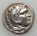 Ancients:Greek, Ancients: MACEDONIAN KINGDOM. Alexander III the Great (336-323 BC).AR tetradrachm (17.38 gm). ...
