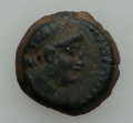 Ancients:Ancient Lots  , Ancients: SELEUCID KINGDOM. Ca. 144-129 BC. Lot of two bronzes (2). ... (Total: 2 coins)