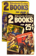 Pulps:Western, 2 Western-Action Books #7 and 10 Group (Fight Stores, Inc., 1952-53) Condition: Average VG/FN.... (Total: 2 )