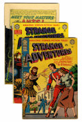 Golden Age (1938-1955):Science Fiction, Strange Adventures Group (DC, 1951-57) Condition: Average GD....(Total: 10 Comic Books)