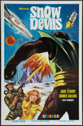 """Movie Posters:Science Fiction, Snow Devils (MGM, 1967). One Sheet (27"""" X 41""""). Science Fiction....."""