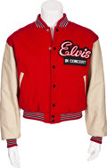 Music Memorabilia:Costumes, Elvis Presley Tour Jacket....