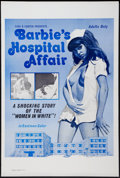 "Movie Posters:Sexploitation, Barbie's Hospital Affair (Distribpix, 1970). One Sheet (28"" X 42"").Sexploitation.. ..."