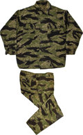 "Movie/TV Memorabilia:Costumes, A Pair of Camouflage Fatigues from ""The Green Berets.""... (Total: 2Items)"