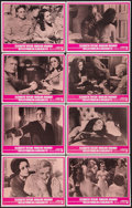 """Movie Posters:Drama, Reflections in a Golden Eye (Warner Brothers, 1967). Lobby Card Set of 8 (11"""" X 14""""). Drama.. ... (Total: 8 Items)"""