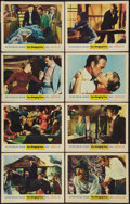 """Movie Posters:Western, The Hanging Tree (Warner Brothers, 1959). Lobby Card Set of 8 (11"""" X 14""""). Western.. ... (Total: 8 Items)"""