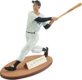 "Baseball Collectibles:Others, Joe DiMaggio Signed ""Gartlan"" Figurine...."