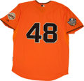 Baseball Collectibles:Uniforms, Pablo Sandoval Signed Jersey. ...