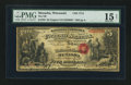 National Bank Notes:Wisconsin, Menasha, WI - $5 Original Fr. 399 The NB of Menasha Ch. # 1714. ...
