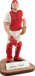 "Baseball Collectibles:Others, Johnny Bench Signed ""Gartlan"" Figurine...."