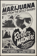 """Movie Posters:Exploitation, Reefer Madness (Motion Picture Ventures, R-1970s). One Sheet (27"""" X41""""). Exploitation.. ..."""