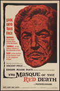 """Movie Posters:Horror, The Masque of the Red Death (American International, 1964). One Sheet (27"""" X 41""""). Horror.. ..."""