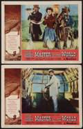 """Movie Posters:Science Fiction, Master of the World (American International, 1961). Lobby Cards (2) (11"""" X 14"""") and Uncut Pressbook (18 Pages, 15"""" X 21.5"""").... (Total: 3 Items)"""