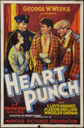 "Movie Posters:Sports, Heart Punch (Mayfair Pictures, 1932). One Sheet (27"" X 41""). Sports.. ..."