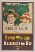 """Movie Posters:Comedy, Kidder and Ko (Pathé, R-1920s). One Sheet (27"""" X 41""""). Comedy.. ..."""