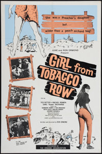 "Girl from Tobacco Row (Ormond, 1966). One Sheet (27"" X 41""). Exploitation"