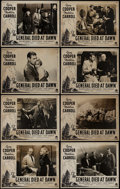 "Movie Posters:Adventure, The General Died at Dawn (Paramount, R-1940s). Australian LobbyCard Set of 8 (11"" X 14""). Adventure.. ... (Total: 8 Items)"
