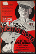 "Movie Posters:War, Fugitive Road (Chesterfield, 1934). Uncut Pressbook (8 Pages, 12"" X18""). War.. ..."