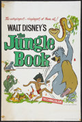 "Movie Posters:Animated, The Jungle Book (Buena Vista, 1967). British Double Crown (20"" X30""). Animated.. ..."