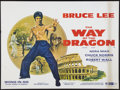 "Movie Posters:Action, The Way of the Dragon (Cathay Films, 1974). British Quad (30"" X40""). Action.. ..."