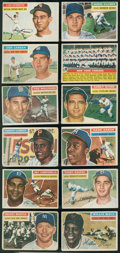 Baseball Cards:Sets, 1956 Topps Baseball Near Set (338/340)....