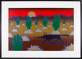 Music Memorabilia:Original Art, Stanley Mouse Los Alamos Version One Artist Proof....