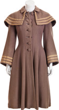 Movie/TV Memorabilia:Costumes, Janet Leigh Coat from Little Women....