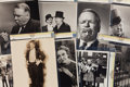 Movie/TV Memorabilia:Photos, W.C. Fields Vintage Photos.... (Total: 9 Items)