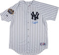 Baseball Collectibles:Uniforms, Derek Jeter Signed Jersey - With 2003 World Series Patch. ...