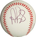Baseball Collectibles:Balls, Albert Pujols Single Signed Baseball. ...