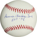 "Baseball Collectibles:Balls, Edward Charles ""Whitey"" Ford Single Signed Baseball...."