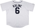 Baseball Collectibles:Uniforms, Al Kaline Signed Jersey....
