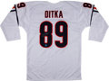 Football Collectibles:Uniforms, Mike Ditka Signed Jersey....