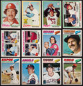 Baseball Cards:Sets, 1977 and 1978 O-Pee-Chee Baseball Complete and Near Set Pair (2)....