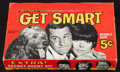"Non-Sport Cards:Unopened Packs/Display Boxes, 1965 Topps ""Get Smart"" Empty Display Box. ..."