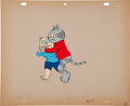 Animation Art:Limited Edition Cel, Fritz the Cat Animation Production Cel Animation Art(Cinemation Industries, 1972)....
